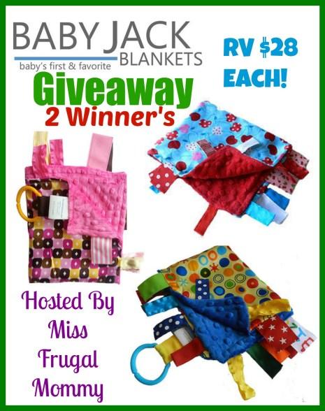Baby Jack Blankets Giveaway (2 Winners)
