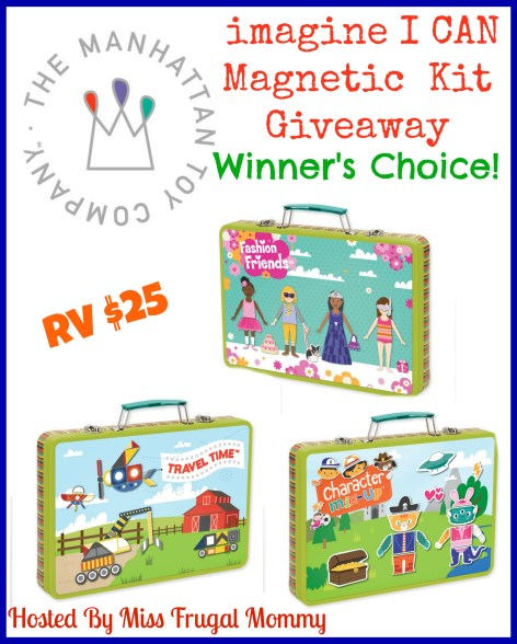imagine I CAN Magnetic Kit Giveaway (Winner's Choice)