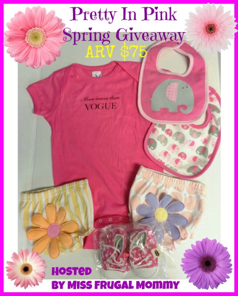 Pretty In Pink Spring Giveaway