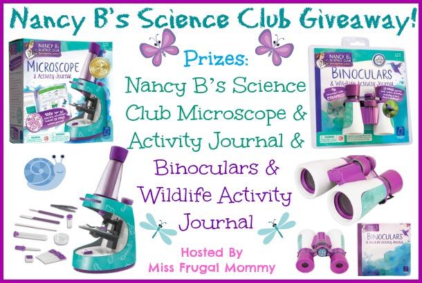 Nancy B's Science Club Giveaway