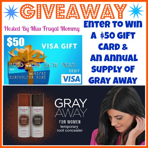 $50 Gift Card & Annual Supply of Gray Away Giveaway