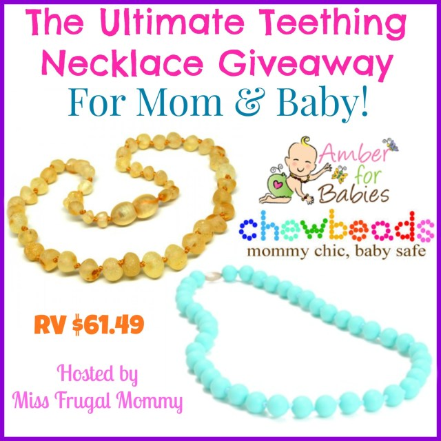 The Ultimate Teething Necklace Giveaway