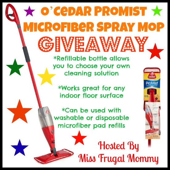 Microfiber Spray Mop Giveaway