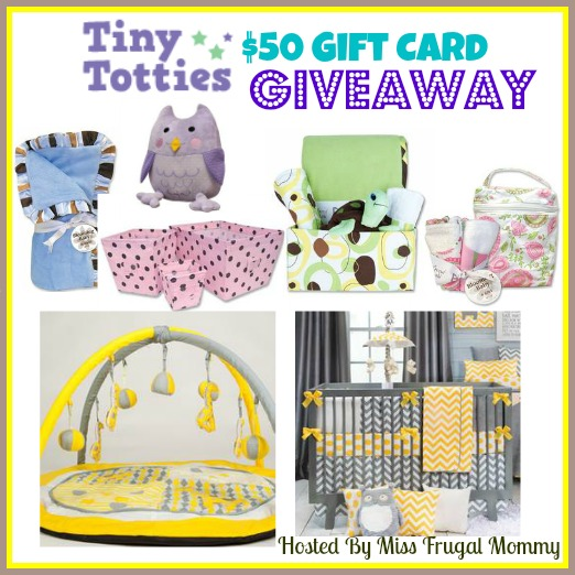 Tiny Totties $50 Gift Card Giveaway
