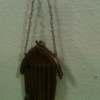 Antique Metal Mesh Purse & Vintage beaded purses I wonder what they Carried in these tiny bags??