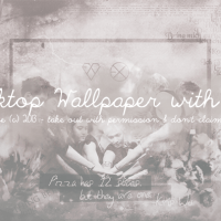 [Fanart] EXO Desktop Wallpaper by. Glace