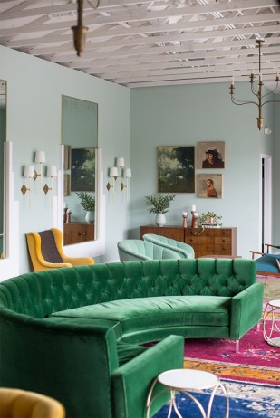green-sectional