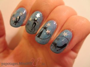 Water decals D244 Chats chics