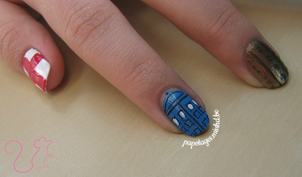 Nail art Doctor Who
