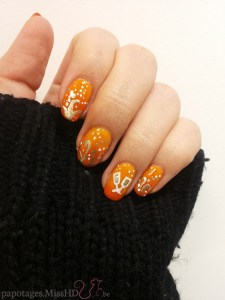Nail art du Nouvel An