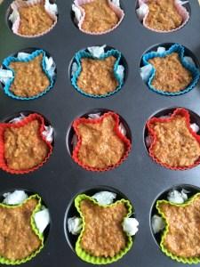 Osterhasen Muffins Möhren