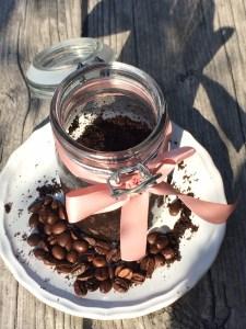 Kaffee Peeling Vegan