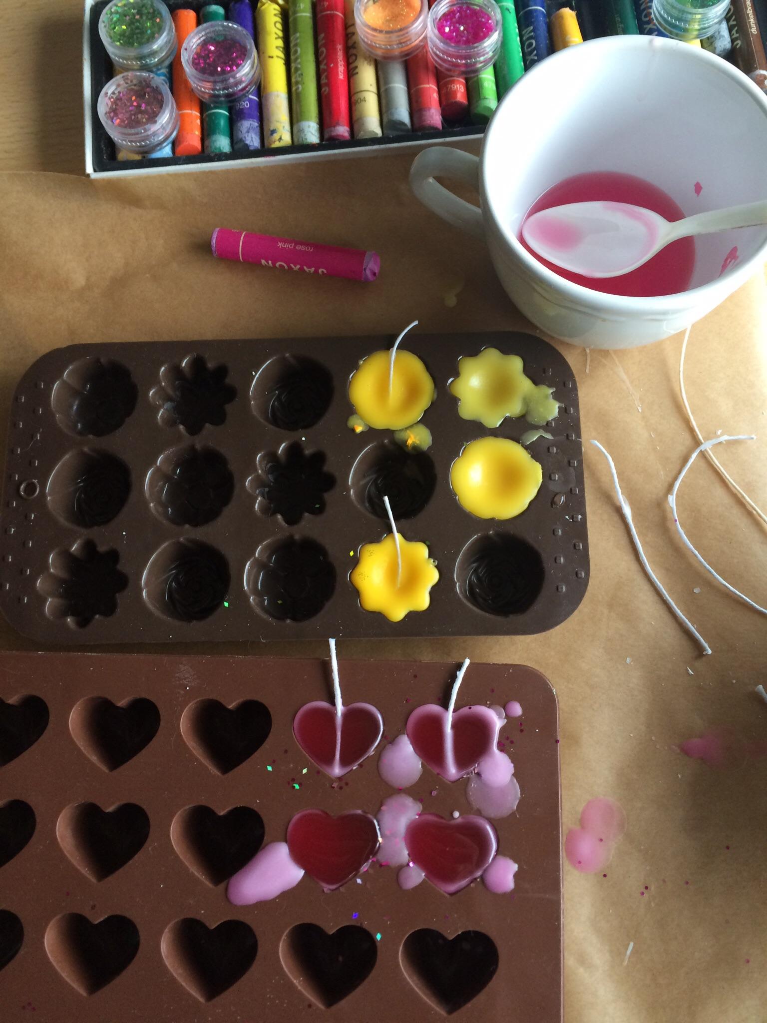 schwimmende kerzen selber machen, deko- und geschenkidee: schwimmende duftkerzen – miss ♡ made, Design ideen
