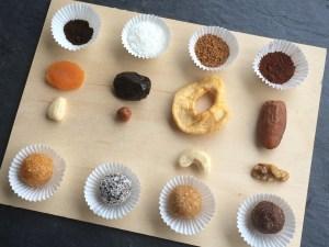 Pralinen gesund vegan ohne Zucker