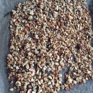 Granola zubereiten selbermachen backen