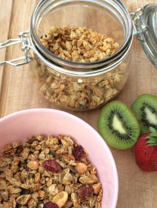Granola Frühstück gesund Müsli