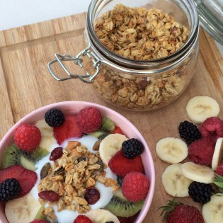 Müsli abnehmen Frühstück healthy clean