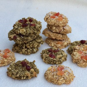 Vegane Cookies Matcha und Exotic