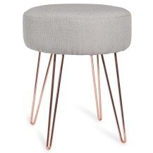 lulea-copper-coloured-metal-and-grey-fabric-stool-162488-1000-2-5-162488_1