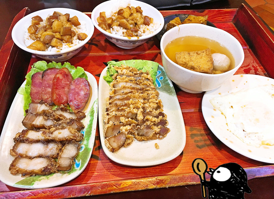 台中西屯美食 財神爺魯肉飯 24小時宵夜 便當熱湯樣樣有 精緻小菜超多 惠來路三段小吃 自助式取餐