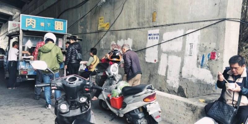 台中烏日美食 橋下肉圓 傳統手工 一顆肉圓35元 配豬血湯喝到飽好超值 每天只賣四小時隱藏版美食