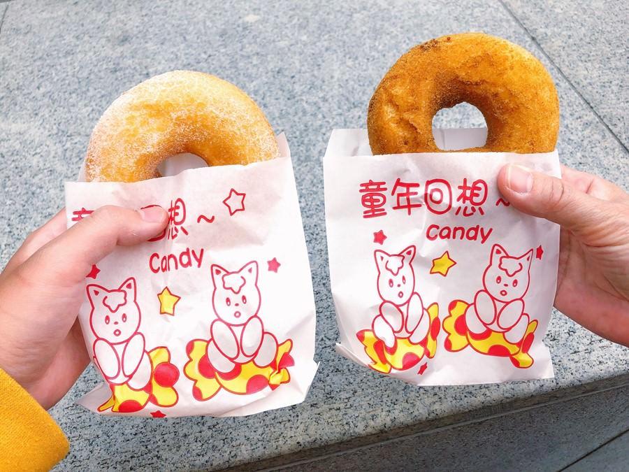 捷運圓山站美食【美濃泰涼/小米甜甜圈】大龍市場排隊美食!在地必吃小吃!