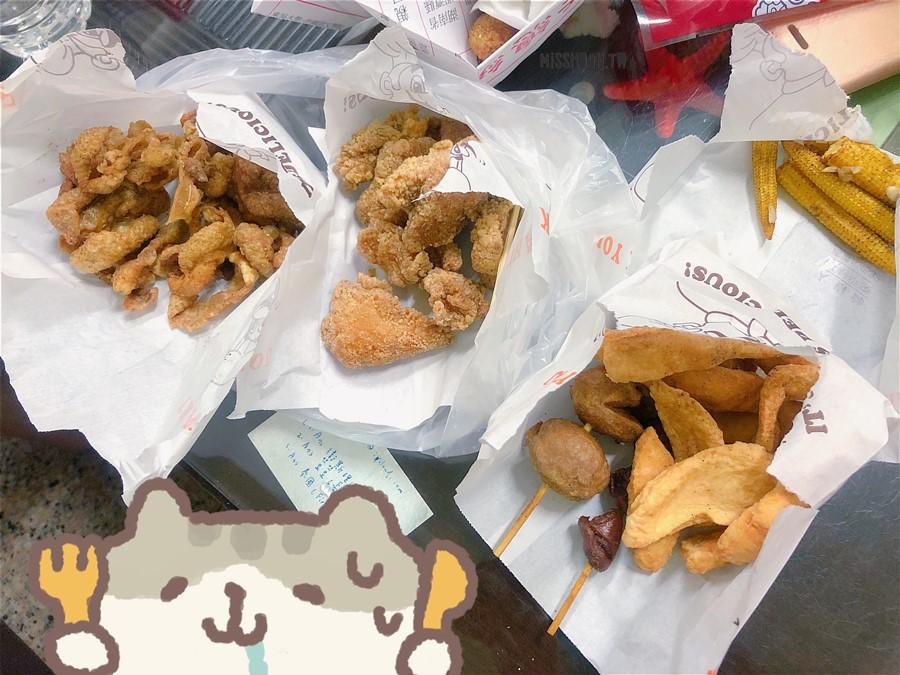 台中太平美食【福記香雞排】夜貓子的宵夜好選擇!鹽酥雞/魷魚酥/甜不辣/甘梅地瓜