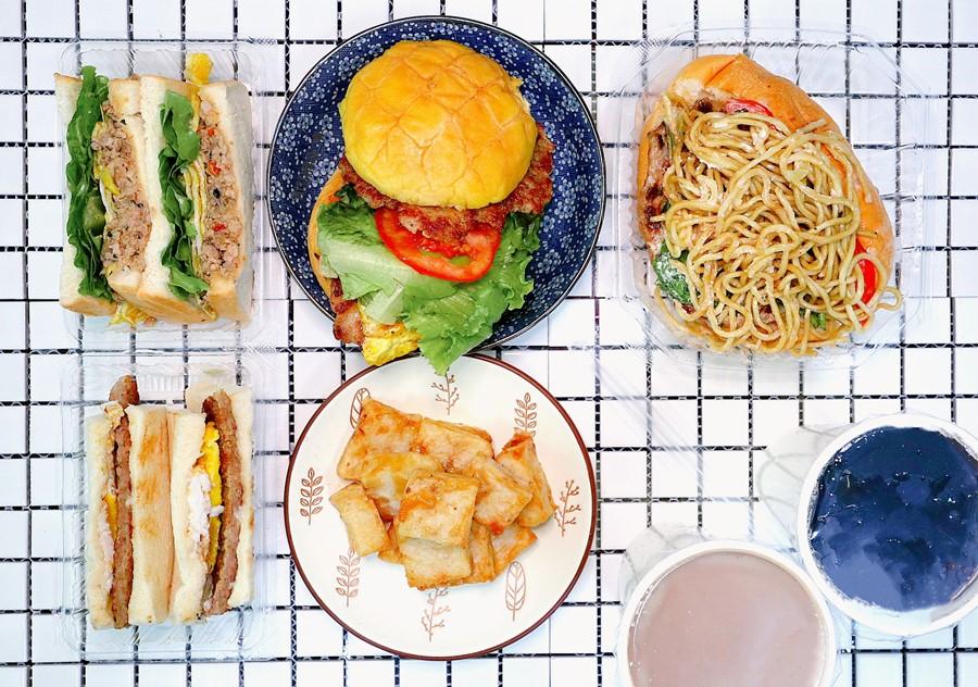 台中西屯美食【告胖早午餐/惠中店】從餐車升級成街邊店囉!早上6點就開始營業的早餐店!