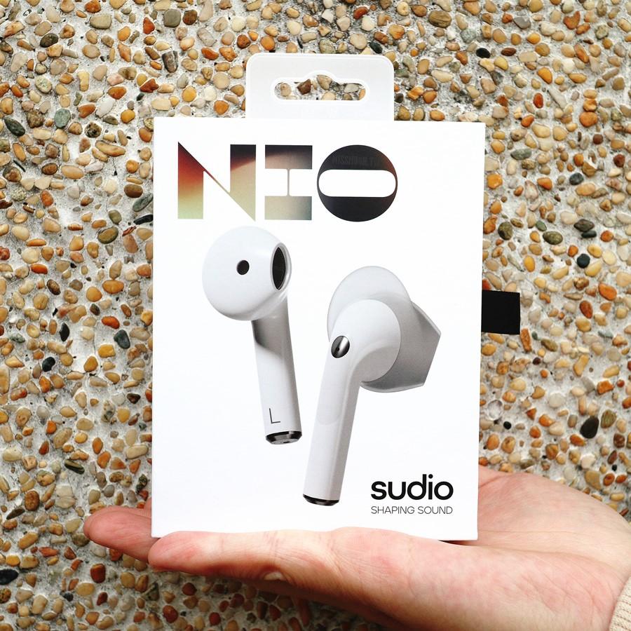 瑞典耳機品牌【Sudio】最新真無線藍芽耳機Nio上市啦!20小時超長續航力.IPX4防水.可更換耳翼.音質更出色