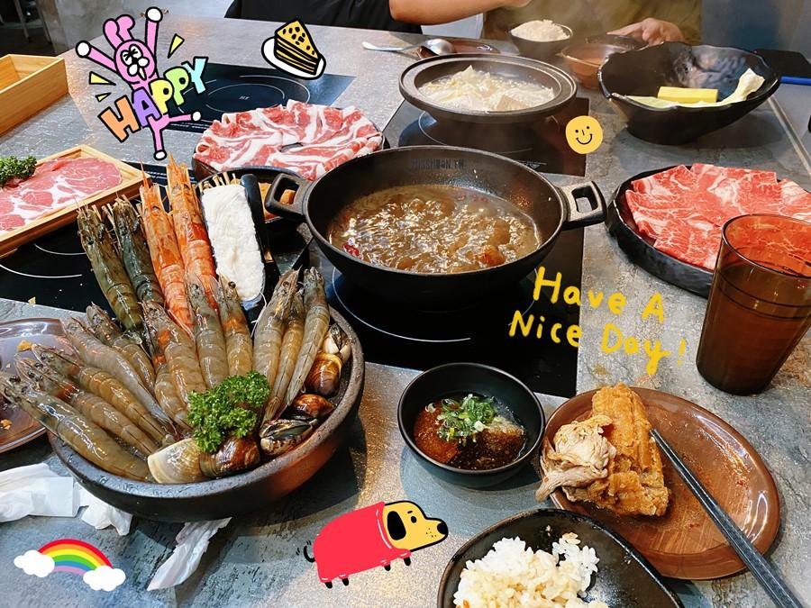 台中東區美食【銄鍋/滿足系鍋物/十甲店】可以菜盤換肉!雙肉組合最便宜只要238元!