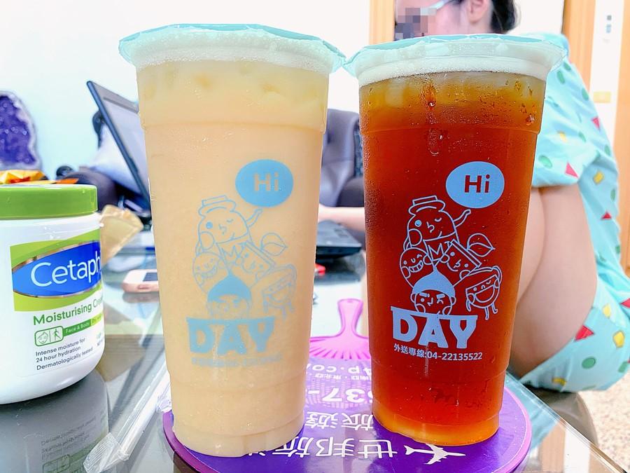 台中東區美食【DAY手作茶堂】來店自取!買5杯就送1杯!
