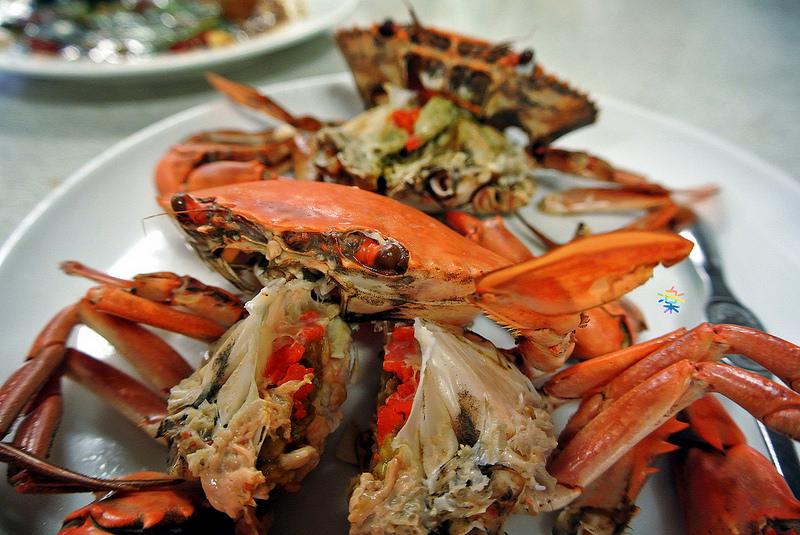 台中西屯美食 漁人船釣海鮮餐廳 野生魚蟹主題餐廳 活海鮮
