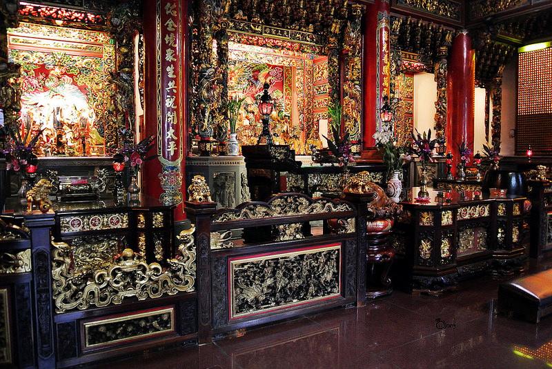 台北中山景點【景福宮】原是一座兩坪大的土地公廟!