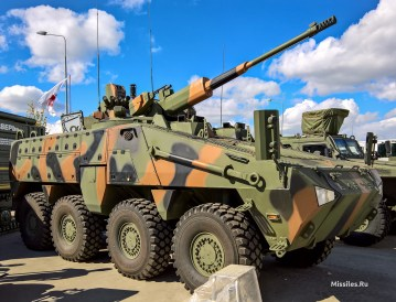 Бронеавтомобиль «Барыс» 8x8 с модулем АУ-220М