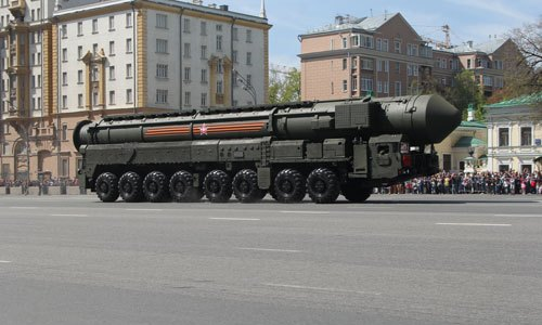 Russia Test Fires ICBM in Zapad Exercise