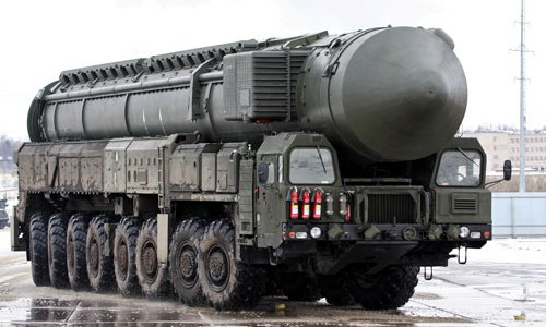 Russia Tests SS-27 'Topol-M' ICBM