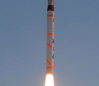 India Conducts Seventh Test Launch of Agni-4