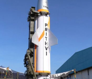India Test Fires Prithvi-2 Ballistic Missile