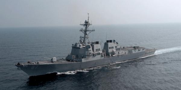 USS Mason Launches Three Interceptors to Defend Against Yemen Cruise Missile Attack