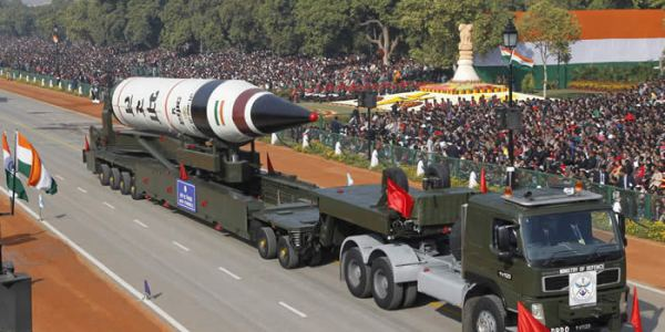India Conducts Fifth Agni-5 Test-Launch