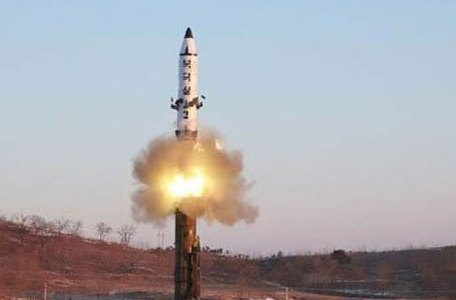 North Korea Tests Solid Fuel Engine