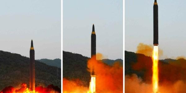 North Korea Tests New IRBM