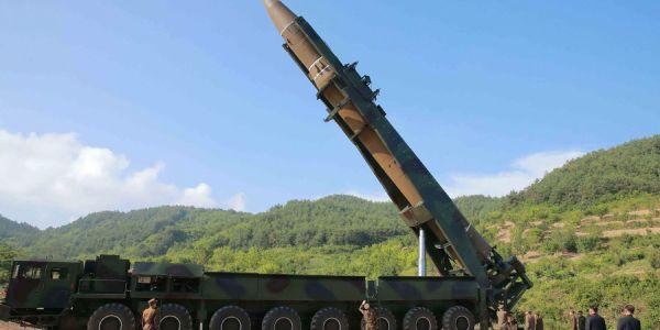 North Korea Conducts Third ICBM Test