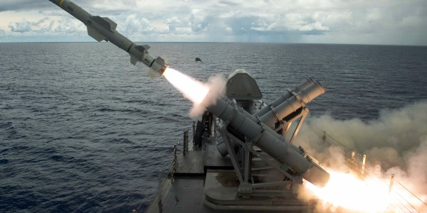 DSCA Approves Harpoon and RAM Sale to Mexico