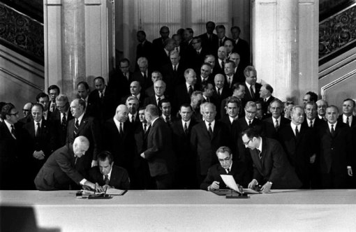 Signing of the ABM Treaty, 1972