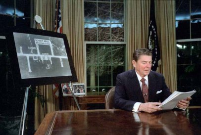 President Reagan Delivers Speech on SDI, March 23, 1983