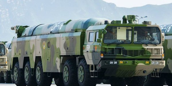 China Tests New DF-17 with Hypersonic Glide Vehicle
