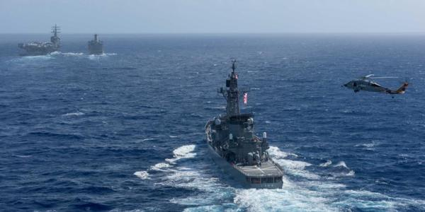 US, South Korea, Japan Conduct Missile Warning Exercise