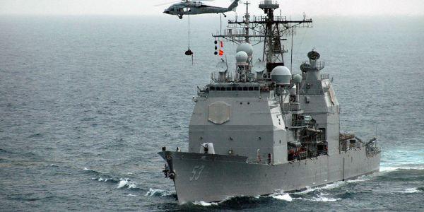 USS Mobile Bay Tests Aegis Baseline 9 Upgrades