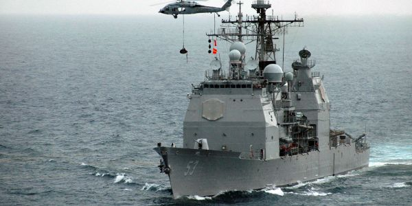 USS Mobile Bay Tests Aegis Baseline 9 Upgrades